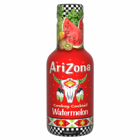 AriZona Cowboy Cocktail Watermelon 500ml ( Netherlands )